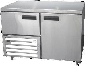 1 5 Door Underbar Refrigerator